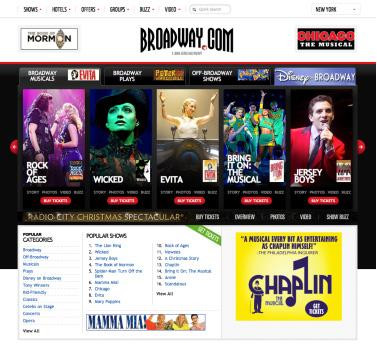 broadway.com screen grab