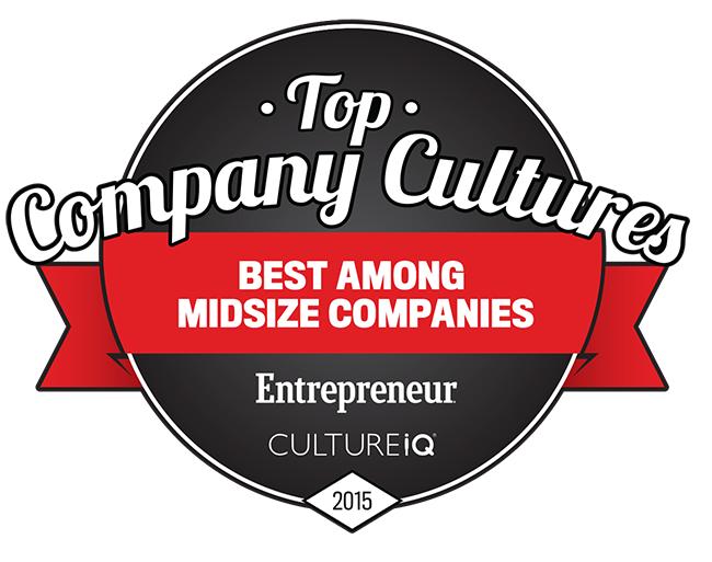 top company culture award