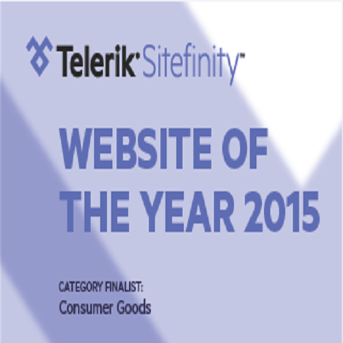 sitefinity website of the year