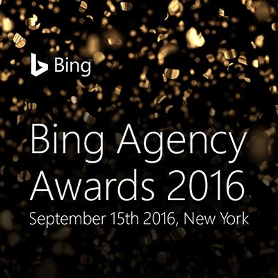 Bing Agency Awards