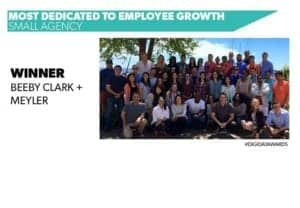 BCM dedicated to employee growth