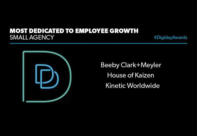BCM Digiday Award