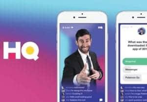 HQ Trivia App on a phone's screen