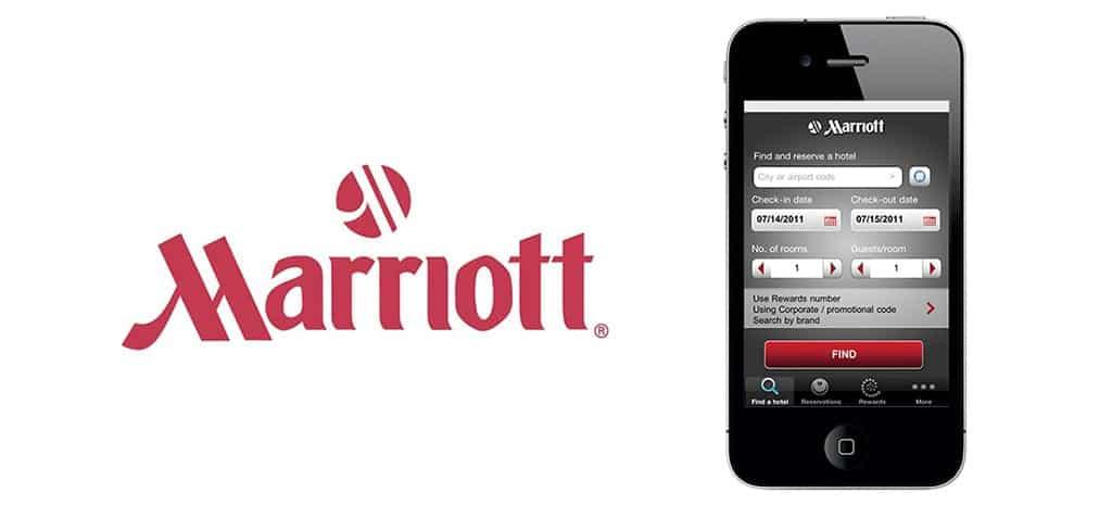 An award-winning mobile app for Marriott International